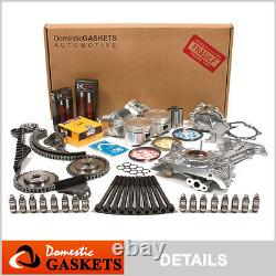 Fit 94-99 Nissan Sentra 200SX Infiniti G20 2.0 Master Overhaul Engine Kit SR20DE