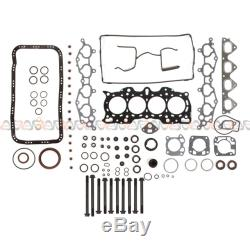 Fits 90-95 Acura Integra 1.8 DOHC Master Overhaul Engine Rebuild Kit B18A1 B18B1