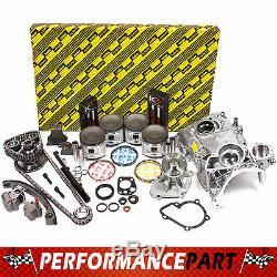 Fits 91-94 Nissan 240SX 2.4 Master Engine Rebuild Kit KA24DE