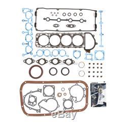Fits 91-94 Nissan 240SX 2.4L DOHC Overhaul Engine Rebuild Kit KA24DE
