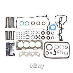 Fits 95-98 Toyota Tercel Paseo 1.5L DOHC Master Overhaul Engine Rebuild Kit 5EFE