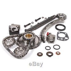 Fits 98-04 Nissan Frontier Xterra 2.4L DOHC Overhaul Engine Rebuild Kit KA24DE