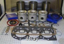 Ford 4000 4600 4610 4630 Tractor Engine Rebuild Kit (06/1969 Onwards)