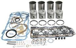 Ford 6410 6600 6610 Tractor Engine Rebuild Kit