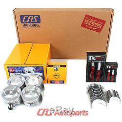 Ford Focus 2.0L SOHC P Full Gasket Set Bearings Pistons+Rings Engine Kit-5PC