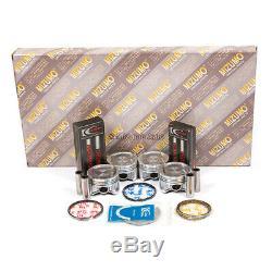 Full Gasket Set Pistons Bearings Fit Honda Civic Del Sol 1.6L D16Y5 D16Y7 D16Y8