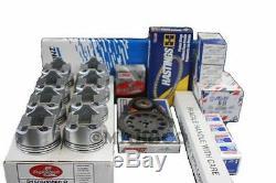 GM Chevy 350 5.7 Master Engine Rebuild Kit 1996-2002 Vortec withFlattop Pistons