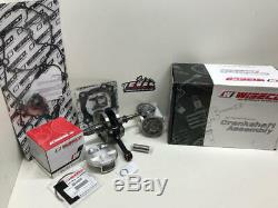 Honda Crf 450r Engine Rebuild Kit Wiseco Crankshaft, Namura Piston 2002-2008