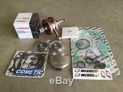 Honda Crf 450r Wiseco Complete Engine Rebuild Kit Wpc 138 Std Bore Kit 02-08