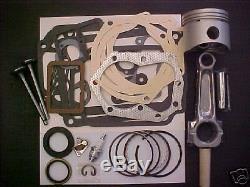 MASTER REBUILD KIT FOR 12HP Kohler, K301 Valves+ tune up