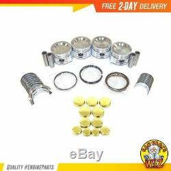 Master Engine Rebuild Kit Fits 87-93 Mazda B2200 2.2L SOHC