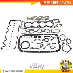 Master Engine Rebuild Kit Fits 89-94 Mazda B2600 MPV 2.6L L4 SOHC 12v