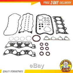 Master Engine Rebuild Kit Fits 96-00 Honda Civic del Sol 1.6L SOHC D16Y5 D16Y8