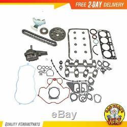 Master Engine Rebuild Kit Fits 98-03 Chevrolet GMC Cavalier Hombre 2.2L OHV 8v