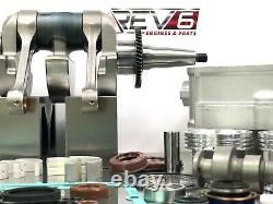 Master Rzr 800 Engine Rebuild Kit Overhaul Kit 2008-2010 S Polaris H. O 4 Motor