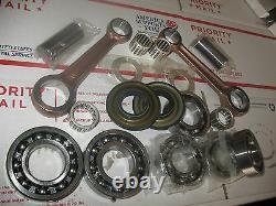 NEW Skidoo 670 Crankshaft rebuild kit Crank Shaft repair Rotax twin cylinder MXZ