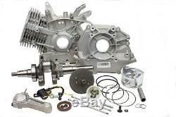 New Assembled Engine Short Block Fits Honda GX340 Crankshaft Piston Rod Gaskets