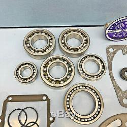 New Polaris 400l 400 Complete Engine Rebuild Kit Crankshaft Bearing Seals Gasket
