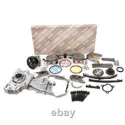 Overhaul Engine Rebuild Kit Fit 02-06 Nissan Altima Sentra SE-R 2.5L QR25DE DOHC