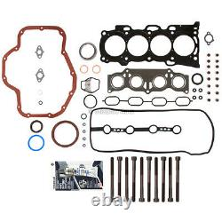 Overhaul Engine Rebuild Kit Fit 02-06 Toyota Highlander Camry RAV4 2.4 2AZFE