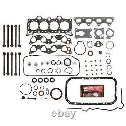 Overhaul Engine Rebuild Kit Fit 88-91 Honda Civic CRX 1.6L D16A6 SOHC