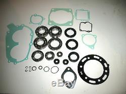 Polaris 400l 400 Complete Engine Rebuild Kit Crankshaft Bearing Seals Gasket Wp