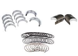 Pontiac 400 Engine Kit Piston Rings+Timing+Oil Pump+Rod/Main Bearings+Gaskets