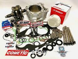 RZR570 RZR 570 Cylinder Crank Motor Engine Rebuild Complete Kit Wiseco Hotrods