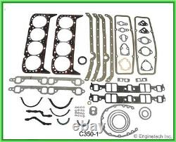SB Chevy 350 5.7L Master Rebuild Kit without pistons/ring Stage3 Camshaft 67-85