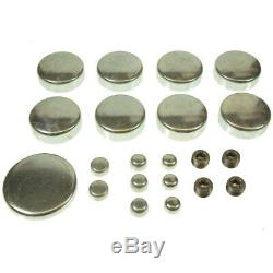 SBC Chevy 350 5.7L Stage 3 High Perf Master Engine Rebuild Kit Camshaft Pistons
