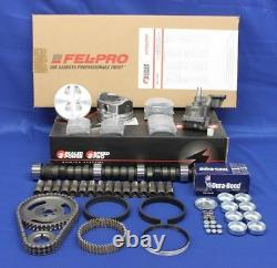 STAGE-2 MASTER Engine Kit Ford 289 302 1963-82 withCam+HYPER Flat Top Pistons+Ring