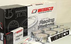 Sbc 383 Forged Assembly 6 Scat Rods, Wiseco 030 Ft Pistons 2pc Rms 4340 Crank