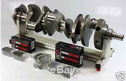 Sbc Chevy 406 Assembly Scat Crank 6 Rods Wiseco Flat Top