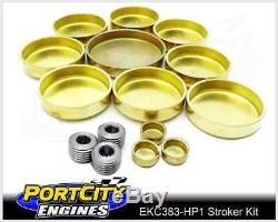 Scat Stroker Engine Kit Chev V8 Small Block 350 383 1pc & 2pc Rear Main Seal