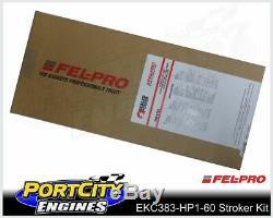 Scat Stroker Engine Kit Chev V8 Small Block 350 383 6.0 I Beam Conrods