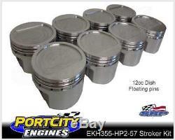 Scat Stroker Engine Kit Holden V8 308 355 HT HG HQ HJ HX HZ Forged Pistons