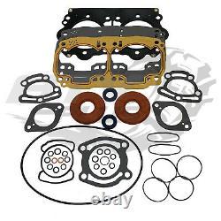 SeaDoo 947 951 Carb GSX GTX RX XP Complete Engine Rebuild Gasket Crank Seal Kit