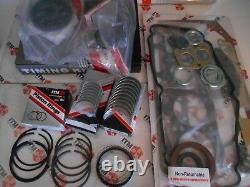 Toyota Corolla 3TC 81-82 Engine Rebuild Kit Rings Bearings Gaskets timing
