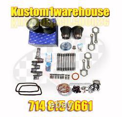 VW 1776cc Volkswagen Engine Rebuild Kit 90.5X69 Bug Bus Beetle Big Bore Motor