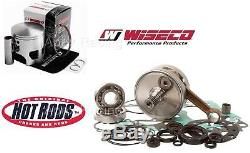WISECO HOTROD KAWASAKI KX65 06-19 Top Bottom End Engine REBUILD Kit Piston Crank