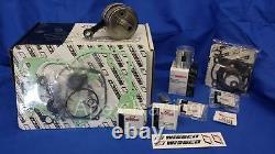 WISECO Top & Bottom End KAWASAKI 2001-2005 KX85 Engine REBUILD Kit Crank Piston