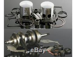 Wiseco Engine Rebuild Kit Yamaha Banshee YFZ 350 64.5mm Bore. 020 Crank/Piston