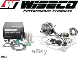 Wiseco Top & Bottom End 1985-03 KX60 & 2003 RM60 Engine Rebuild Kit Crank/Piston