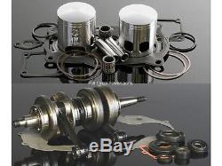 64.00 Wiseco Yamaha 350 Banshee 513M06400 Piston Bearing Gasket Kit Standard