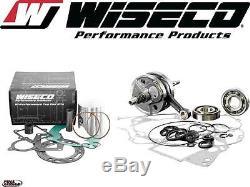 Wiseco Top & Bottom End Yamaha 2001 YZ 125 Engine Rebuild Kit Crankshaft/Piston