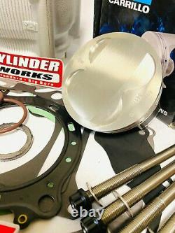 YFZ450 YFZ 450 Big Bore Cylinder Piston Motor Engine Rebuild Kit Complete JE CP