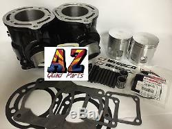 Yamaha Banshee Stock Cylinders Motor Engine Top End Rebuild Kit Gaskets Wiseco