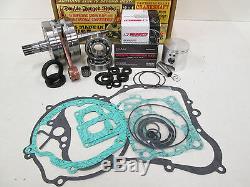 Yamaha Yz 125 Engine Rebuild Kit Crankshaft, Wiseco Piston, Gaskets 2005-2014