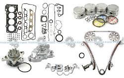 00-05 Toyota Celica Gts Corolla Xrs 1.8l 2zzge Maître Engine Rebuild Kit Dact