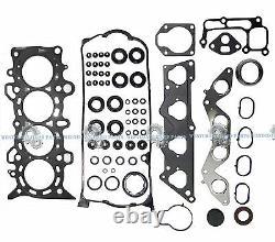 01-05 Honda CIVIC 1.7l D17a1 D17a2 D17a6 Moteur Master Rebuild-kit Graphite